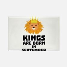Kings are born in SEPTEMBER Ck209 Magnets