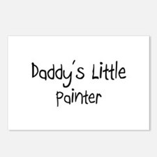 Daddy's Little Painter Postcards (Package of 8)