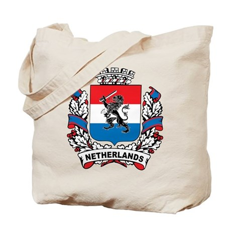 Stylish Netherlands Crest Tote Bag