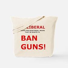 Liberal Dictionary Tote Bag