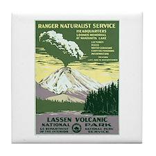 Lassen Volcanic National Park Tile Coaster