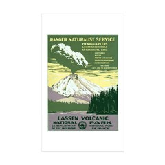 Lassen Volcanic National Park Rectangle Sticker 5