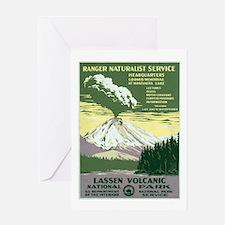 Lassen Volcanic National Park Greeting Card