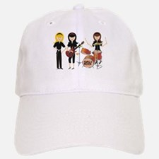 Girls Rock! Baseball Baseball Cap