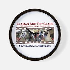 SELR Llama Wall Clock