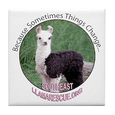 SELR Llama Tile Coaster