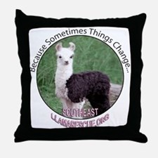 SELR Llama Throw Pillow