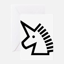 Unicorn #9 Greeting Card