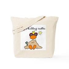 Duck Sand Castle Tote Bag