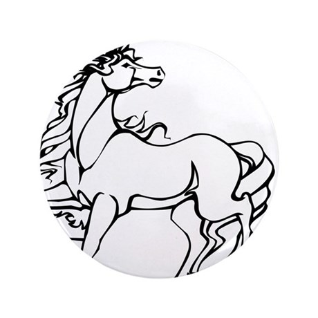 "Unicorn #14 3.5"" Button (100 pack)"