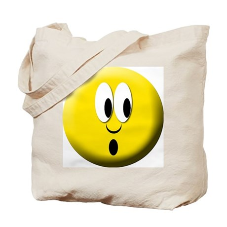 Surprise Mood Smiley Tote Bag