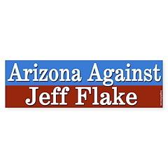 Arizona Against Jeff Flake Bumper Bumper Sticker