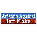 Arizona Against Jeff Flake Bumper Sticker