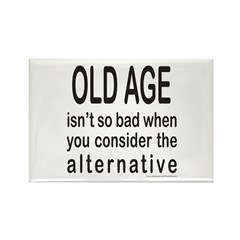 OLD AGE Rectangle Magnet (10 pack)