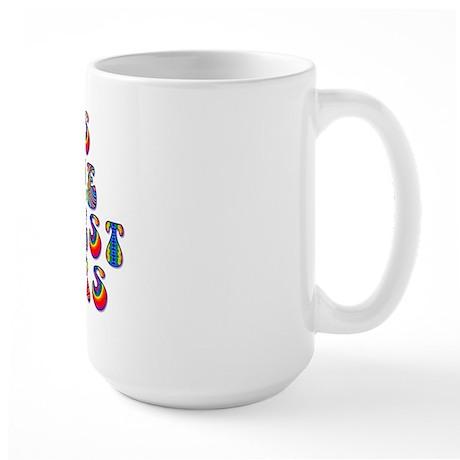 Groovy Cairn Terrier Large Mug