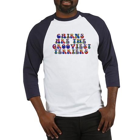 Groovy Cairn Terrier Baseball Jersey