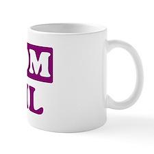 April - Number 1 Mom Mug