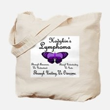Butterfly 1 Hodgkin's Lymphoma Tote Bag