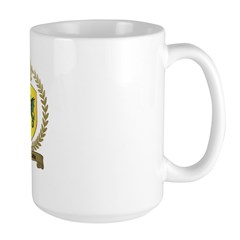 d'ABBADIE Family Crest Large Mug