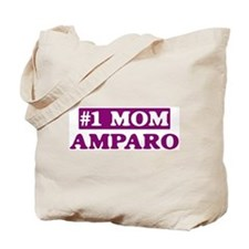 Amparo - Number 1 Mom Tote Bag