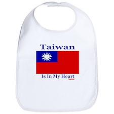 Taiwan - Heart Bib