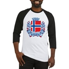 Stylish Norway Crest Baseball Jersey