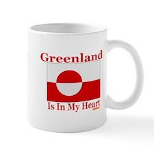 Greenland - Heart Mug