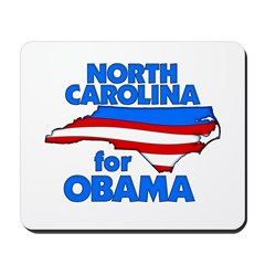 North Carolina for Obama Mousepad