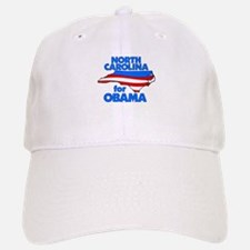 North Carolina for Obama Baseball Baseball Cap