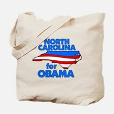 North Carolina for Obama Tote Bag