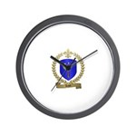 ACHEE Family Crest Wall Clock
