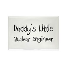 Daddy's Little Nuclear Engineer Rectangle Magnet