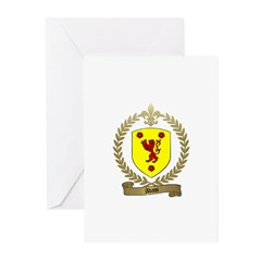 ADAM Family Crest Greeting Cards (Pk of 10)