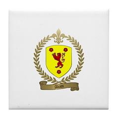 ADAM Family Crest Tile Coaster