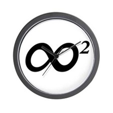INFINITY SQUARED - Wall Clock