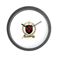 AIGRON Family Crest Wall Clock