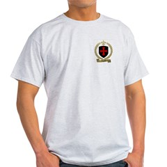 AIGRON Family Crest Ash Grey T-Shirt