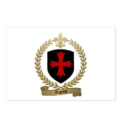 AIGRON Family Crest Postcards (Package of 8)