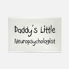 Daddy's Little Neuropsychologist Rectangle Magnet