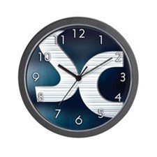 Wall Clock w/ soulcleansed Logo