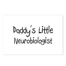 Daddy's Little Neurobiologist Postcards (Package o