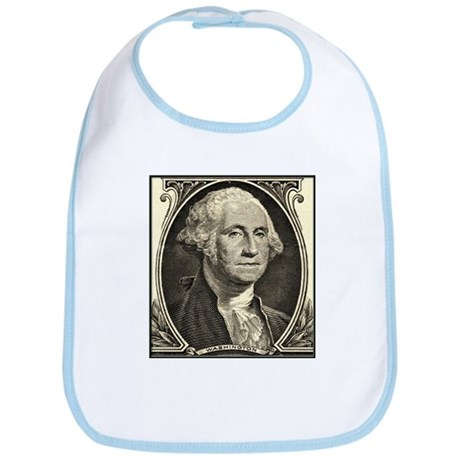 George Washington, $1 Portrait Bib