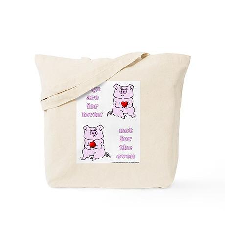 Lovin', not Oven Tote Bag