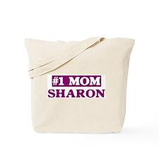 Sharon - Number 1 Mom Tote Bag