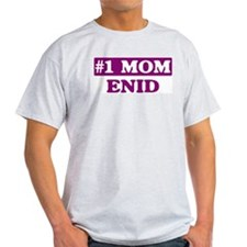 Enid - Number 1 Mom T-Shirt