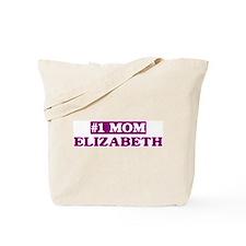 Elizabeth - Number 1 Mom Tote Bag