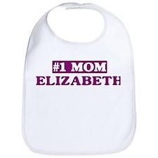 Elizabeth - Number 1 Mom Bib