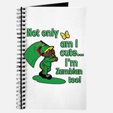 Not only am I cute I'm Zambian too! Journal