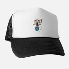 emo Girl Trucker Hat