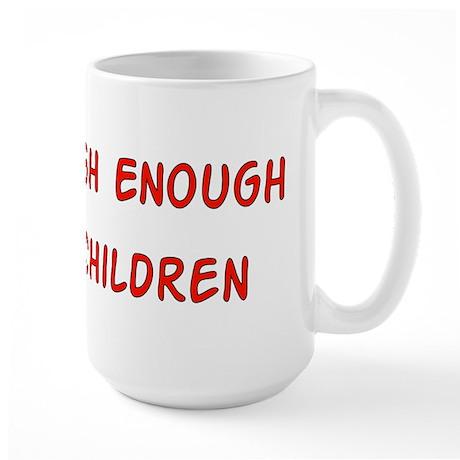 No Breeder Ego Large Mug